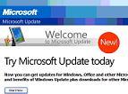 Microsoft Update cu forta